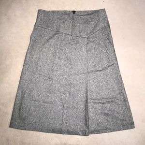 Talbots wool A-line skirt
